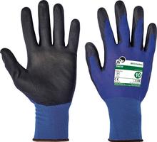 Pracovné rukavice SMEW FH máčané v polyuretáne