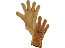 Pracovné rukavice SOKAR celokožené