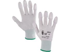 Pracovné rukavice SOLO máčané