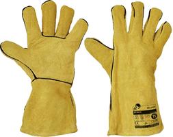 Pracovné rukavice SPINUS FH KEVLAR celokožené