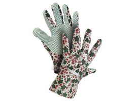 Pracovné rukavice TABLA textilné s PVC terčíkmi