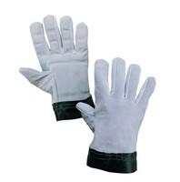 Pracovné rukavice TEMA antivibračné celokožené