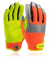 Pracovné rukavice THUNDER MAGNETIC kombinované