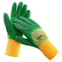 Pracovné rukavice TWITE kids máčané v latexe