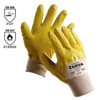 Pracovné rukavice TWITE máčané v latexe
