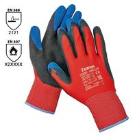 Pracovné rukavice VANELLUS máčané v latexe