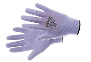 Pracovné rukavice VERY VIOLET máčané v latexe