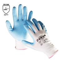 Pracovné rukavice VIREO máčané v nitrile