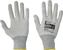 Pracovné rukavice WRYNECK ESD textilné pletené