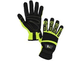 Pracovné rukavice YEMA kombinované