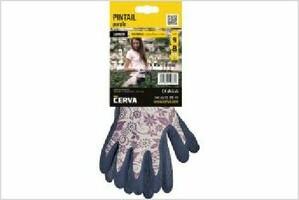 Pracovné rukavice YOWIE PINTAIL máčané v latexe (s blistrom)