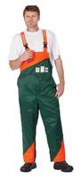 Protiporezné nohavice PLUTO s náprsenkou