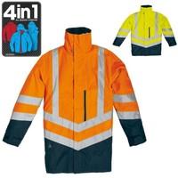 Reflexná bunda OPTIMUM 4v1