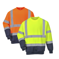 Reflexná mikina B306 Hi-Vis 2-Tone Sweatshirt