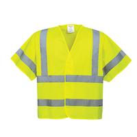 Reflexná vesta C471 Hi-Vis s krátkym rukávom