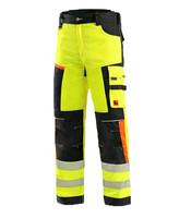 Reflexné montérkové nohavice CXS BENSON do pása Hi-Vis
