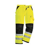 Reflexné monterkové nohavice KS61 XENON Hi-Vis do pása