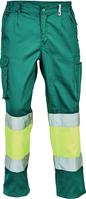 Reflexné nohavice BILBAO Hi-Vis do pása