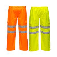 Reflexné nohavice do dažďa S597 Hi-Vis
