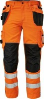 Reflexné nohavice KNOXFIELD Hi-Vis FL310 do pása