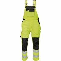 Reflexné nohavice KNOXFIELD Hi-Vis s náprsenkou