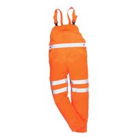 Reflexné nohavice RT43 Hi-Vis s náprsenkou