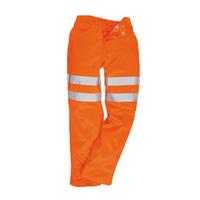 Reflexné nohavice RT45 Hi-Vis do pása predĺžené (194 cm)