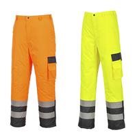 Reflexné nohavice S686 300D Hi-Vis zateplené