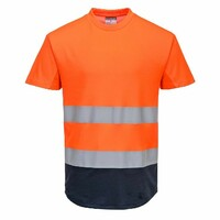 Reflexné tričko C395 MESH Hi-Vis