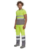 Reflexné tričko MONZON Hi-Vis s krátkym rukávom