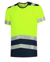 Reflexné tričko T-SHIRT BICOLOR Hi-Vis unisex (Nr.T01)