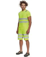 Reflexné tričko TERUEL Hi-Vis s krátkym rukávom