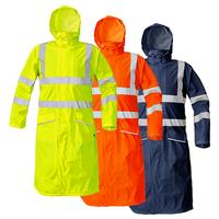 Reflexný plášť do dažďa SIRET