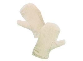 Rukavice DOLI textilné biele č.11