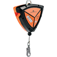 Samonavíjacie zariadenie PROTECTOR TETRA s oceľovým lanom