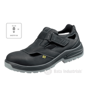 Sandále bezpečnostné BAŤA HELSINKI W S1