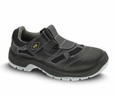 Sandále bezpečnostné BERN S1 čierne