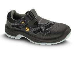 Sandále bezpečnostné BERN S1 ESD čierne