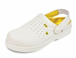 Sandále bezpečnostné RAVEN WHITE MF ESD SB (nekovová)