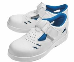 Sandále bezpečnostné RAVEN WHITE S1
