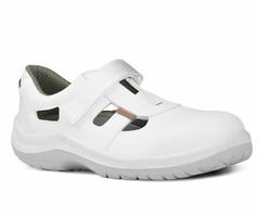 Sandále bezpečnostné WHITE OMEGA LUX S1 (nekovové)