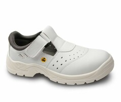 Sandále pracovné BERN O1 ESD biele
