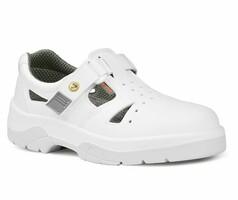 Sandále pracovné ESD OMEGA O1 biele