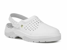 Sandále pracovné WHITE BETA OB ESD