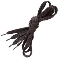Šnúrky do topánok ploché 110 cm čierne