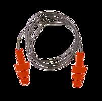 Štuple do uší - EP04 so šnúrkou balenie 50 párov, SNR 23 dB