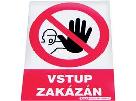 Tabuľka vstup zakázaný