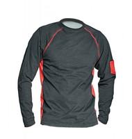 Tričko FAXE dlhý rukáv čierne XS