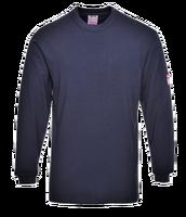 Tričko FR11 s dlhým rukávom tmavomodrá (navy) S
