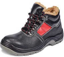 Zateplená bezpečnostná členková obuv JENA SC-03-012 S3